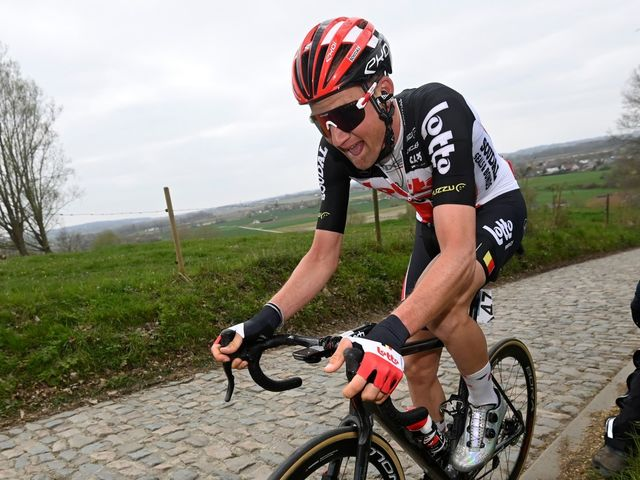 In the picture, but no top result for Lotto Soudal at the Ronde
