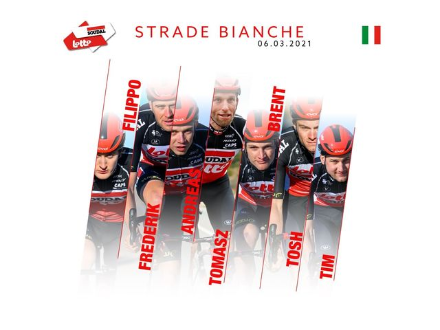 Lotto Soudal ready for Strade Bianche